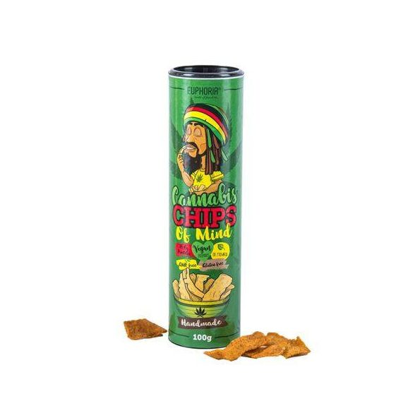 Euphoria Kannabisz Chips 100g