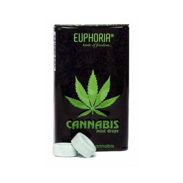 Euphoria kannabiszos mentolos cukorka 25g