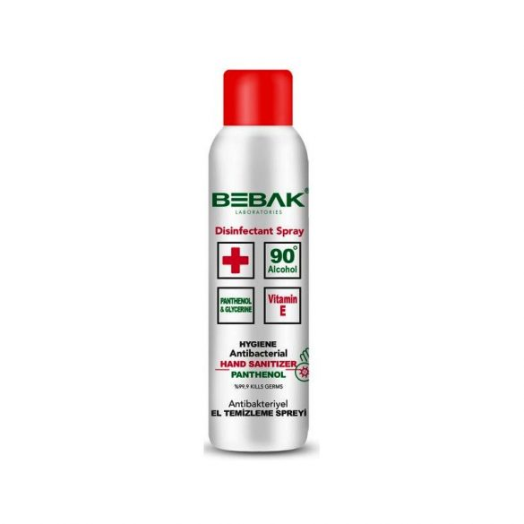 Bebak - Kéz- és felületfertőtlenítő spray 150 ml