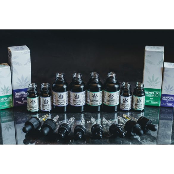 Hemplux 10 ml CBD olaj 5% (500 mg)