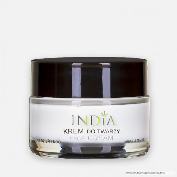 INDIA day/night facial cream with hemp oil for every skin type 50ml