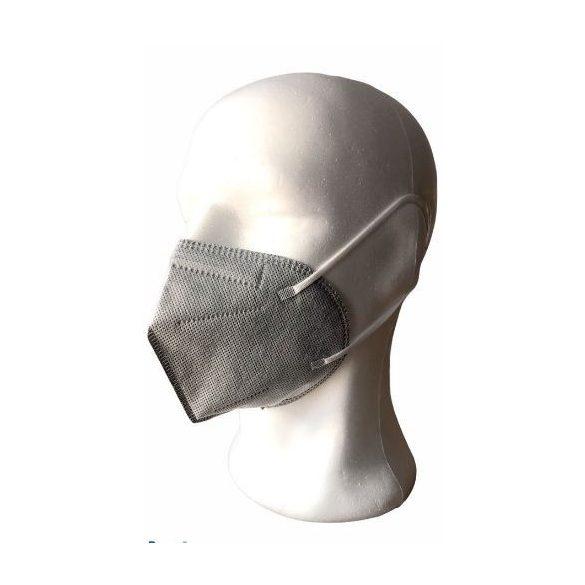 KN95/ FFP2 maszk (szürke) - 1 db