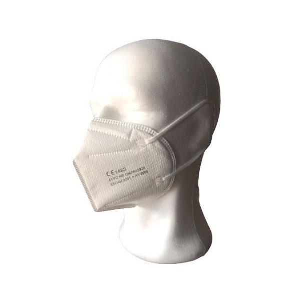 FFP2 szelep nélküli maszk (fehér)