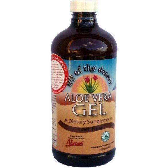 Aloe Vera gél (Filézett ) növény belsejét tartalmazza 473 ml