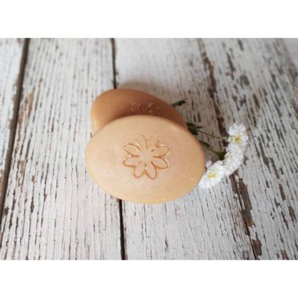 Napvirág Lady szappan, természetes tejsavóval és sárgabarackmag olajjal 50g