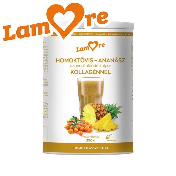 Homoktövis-Ananász kollagénnel azonnal oldódó italpor (250 gr)